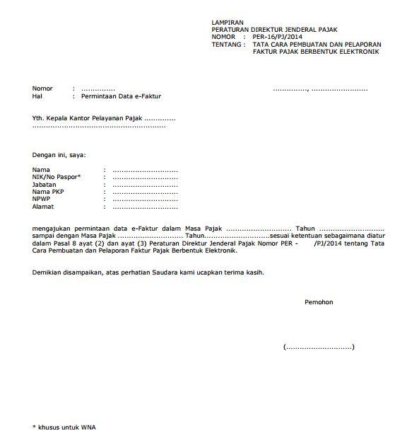 Surat Permohonan Data - Guru Paud