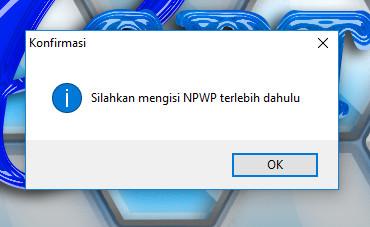 Isi NPWP eSPT PPh 21